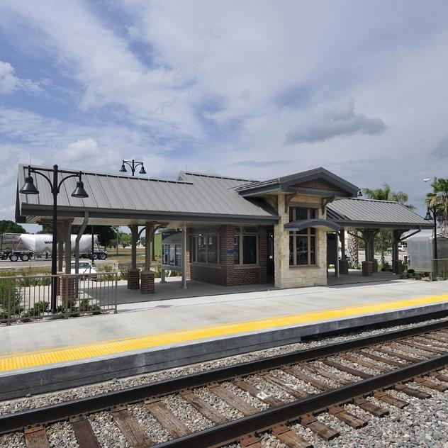Amtrak Station Okeechobee