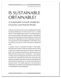 Download Print Version of Is Sustainable Obtainable?